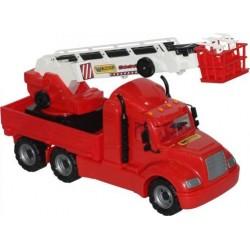 WADER POLESIE 55620 - Wielki Pojazd - WÓZ STRAŻACKI MAJK