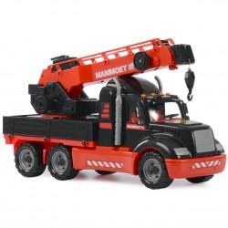 WADER - POLESIE 56771- Duży Pojazd Budowlany - DŹWIG MAMMOET