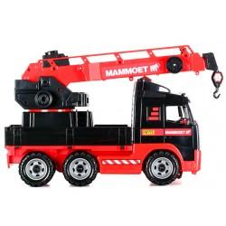 WADER - POLESIE 56979 - Duży Pojazd Budowlany - DŹWIG MAMMOET VOLVO
