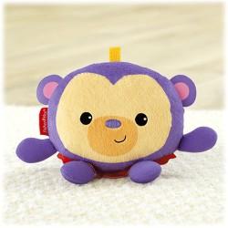 Fisher-Price - BJG27 - Chichoczące Zwierzaki - Małpka Ginger