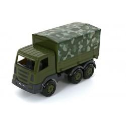 WADER - POLESIE 49148 - Pojazd Wojskowy - SAMOCHÓD WOJSKOWY Z PLANDEKĄ PRESTIŻ