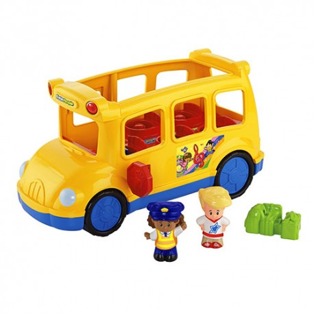 Fisher-Price - CBL55 - Little People - Wesoły Autobus Szkolny