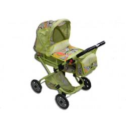 ATIX 4025 - Wózek dla Lalek - Głęboki z Torbą - KASIA