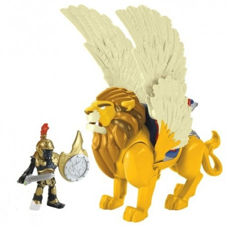 Fisher-Price - CBM73 - Imaginext - Gryf - Król Leonidas
