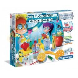 CLEMENTONI 60468 - Naukowa Zabawa - WIELKIE LABORATORIUM CHEMICZNE