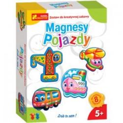 RANOK CREATIVE 2599 - Zestaw Zrób to Sam - Gipsowe Magnesy - POJAZDY