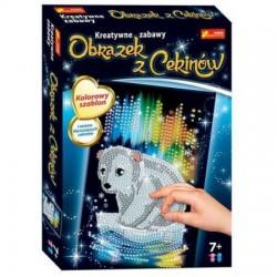 RANOK CREATIVE 2119 - Kreatywne Zabawy - Obrazek z Cekinów - MIŚ POLARNY