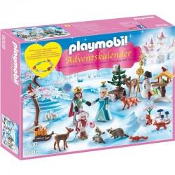 PLAYMOBIL 9008 SPECIAL PLUS - Kolekcja Boże Narodzenie - KALENDARZ ADWENTOWY - LODOWA KSIĘŻNICZKA W ZAMKOWYM PARKU