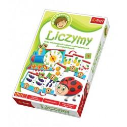 Trefl - 01125 - Mały Odkrywca - Gra Edukacyjna - Zabawy Edukacyjne - Liczymy