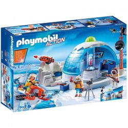 PLAYMOBIL 9055 Action - STACJA POLARNA