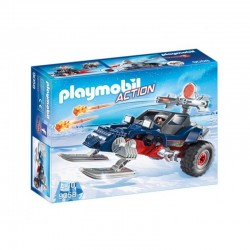 PLAYMOBIL 9058 Action - POJAZD PŁOZOWY Z PIRATEM POLARNYM