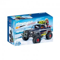 PLAYMOBIL 9059 Action - POJAZD TERENOWY Z PIRATEM POLARNYM
