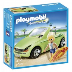 PLAYMOBIL 6069 Summer Fun - SURFER Z KABRIOLETEM