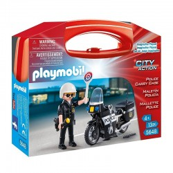 PLAYMOBIL 5648 City Action - SKRZYNKA POLICJA