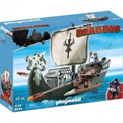 PLAYMOBIL 9244 Dragons - Jak Wytresować Smoka - STATEK DRAGOS