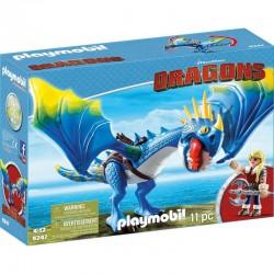 PLAYMOBIL 9247 Dragons - Jak Wytresować Smoka - ASTRID I WICHURA