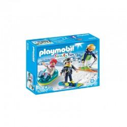 PLAYMOBIL 9286 Family Fun - SPORTOWCY ZIMOWI