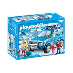 PLAYMOBIL 9281 Family Fun - AUTO Z BOKSEM DACHOWYM