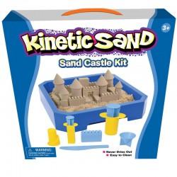 SPIN MASTER 190 - Kinetic Sand - ZESTAW Z PIASKIEM KINETYCZNYM 2,5 KG - ZAMEK