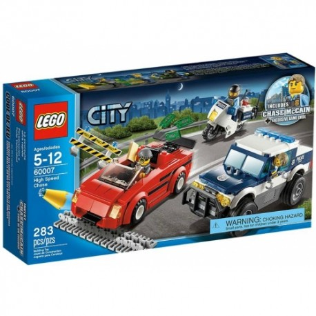 LEGO CITY 60007 Super Szybki Pościg Policji