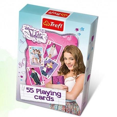 Trefl - 08617 - Gra - Karty - Violetta 55 Kart