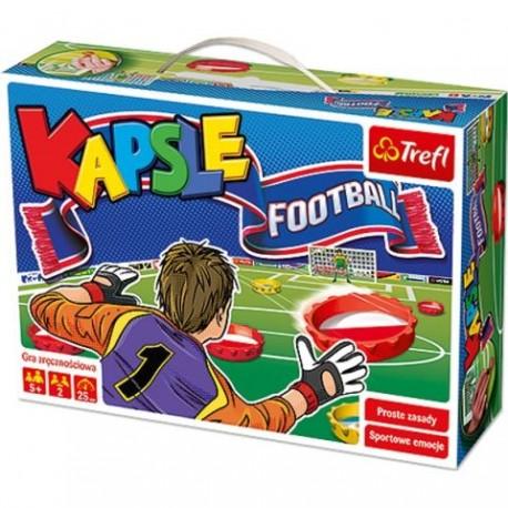 Trefl - 01073 - Gra Zręcznościowa - Kapsle Football