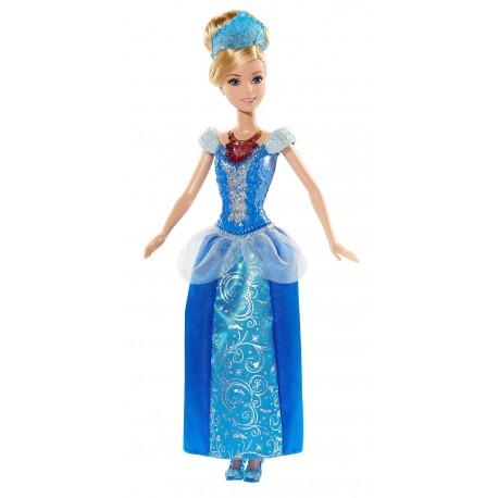 Mattel - BDJ23 - Disney Princess - Świecące Klejnoty - Kopciuszek