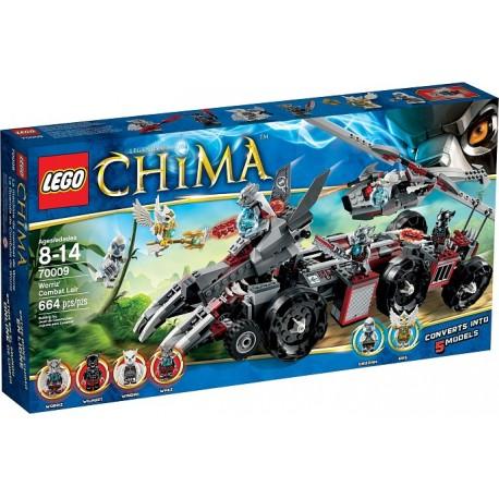 LEGO CHIMA 70009 Pojazd Bojowy Worriza