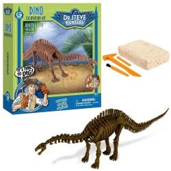 GEOWORLD CL1673K - Wyprawa Paleontologiczna Dr. Steve Hunters - Wykopaliska Dinozaurów 14 el. - APATOSAURUS