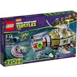 LEGO TURTLES 79121 Pościg Łodzią Podwodną