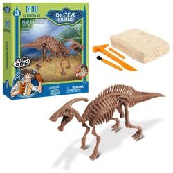 GEOWORLD CL1671K - Wyprawa Paleontologiczna Dr. Steve Hunters - Wykopaliska Dinozaurów 13 el. - PARASAUROLOPUS