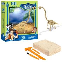 GEOWORLD CL1665K - Wyprawa Paleontologiczna Dr. Steve Hunters - Wykopaliska Dinozaurów 14 el. - BRACHIOSAURUS