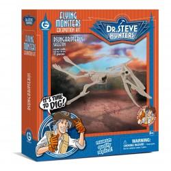 GEOWORLD CL1682K - Wyprawa Paleontologiczna Dr. Steve Hunters - Wykopaliska Dinozaurów 13 el. - DSUNGARIPTERUS