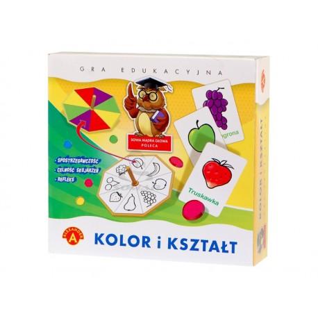 Alexander - Gra Edukacyjna - Kolor i Kształt