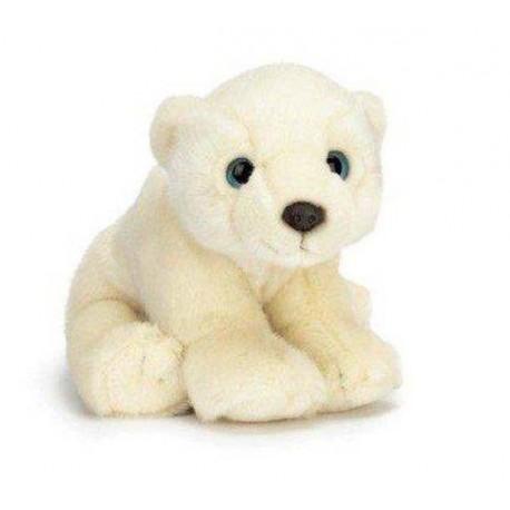 Teddykompaniet - 7112 - Maskotka Pluszowa - Niedźwiadek ISBJORN - Arctic Animals - 22 cm
