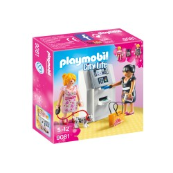 PLAYMOBIL 9081 City Life - BANKOMAT