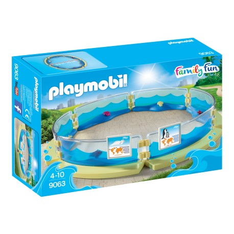 PLAYMOBIL 9063 Family Fun - BASEN DLA FAUNY MORSKIEJ