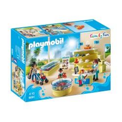 PLAYMOBIL 9061 Family Fun - SKLEPIK W OCEANARIUM