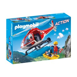 PLAYMOBIL 9127 Action - HELIKOPTER RATOWNICTWA GÓRSKIEGO