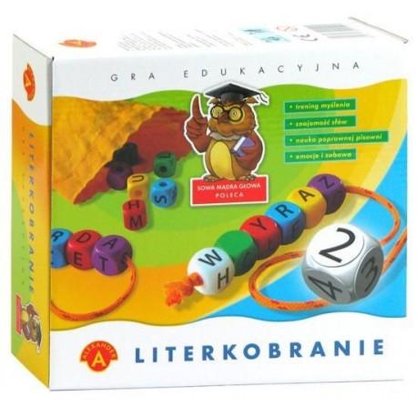 Alexander - Gra Edukacyjna - Literkobranie 4595