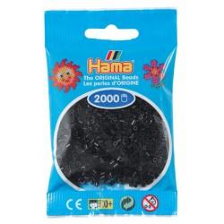 Hama - Mini - 50118 - Koraliki Czarne- Zestaw Uzupełniający 2000 szt.