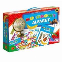 Alexander - Gra Edukacyjna - Kolorowy Alfabet