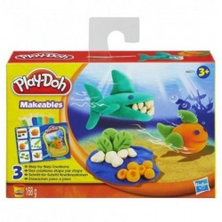 Ciastolina Play-Doh - A6071 - Zestaw kolorowe karty - Rybki