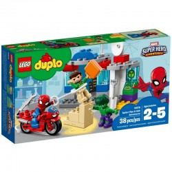 LEGO DUPLO 10876 Przygody Spider-Mana i Hulka NOWOŚĆ 2018