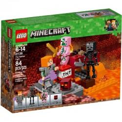 LEGO Minecraft 21139 Walka w Netherze - NOWOŚĆ 2018!