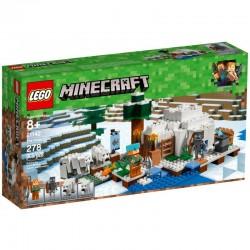 LEGO Minecraft 21142 Igloo Niedźwiedzia Polarnego - NOWOŚĆ 2018!
