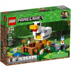 LEGO Minecraft 21140 Kurnik - NOWOŚĆ 2018!