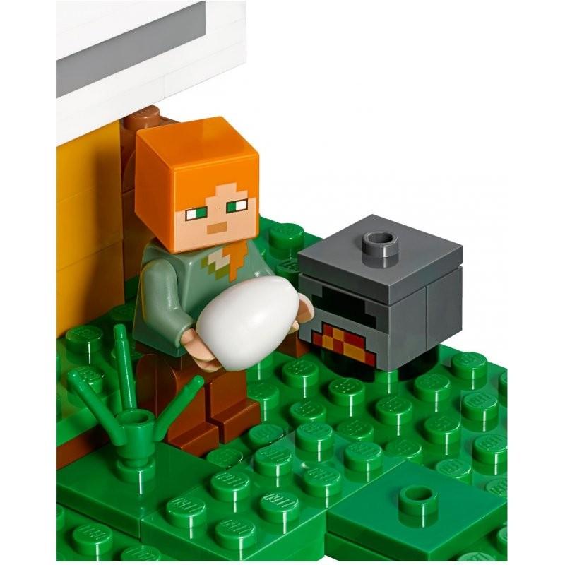 Lego Minecraft 21140 Kurnik Nowość 2018
