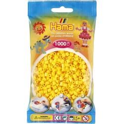 Hama - Midi - 20703 - Koraliki Żółte - Zestaw Uzupełniający 1000 szt.