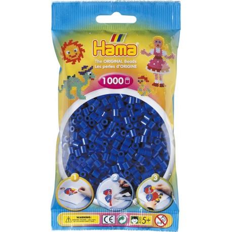 Hama - Midi - 20708 - Koraliki Niebieskie - Zestaw Uzupełniający 1000 szt.